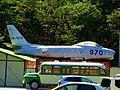 North American F-86F Sabre (02-7970) at Kawaguchiko Motor Museum, Yamanashi prefecture, Japan.jpg