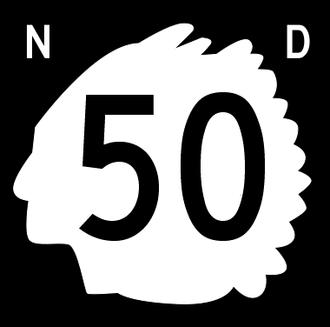Burke County, North Dakota - Image: North Dakota 50