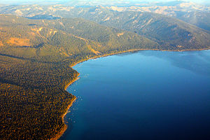 Lake Tahoe - North Lake Tahoe aerial photo