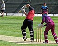 North Middlesex CC v Hampstead CC at Crouch End, Haringey, London 16.jpg