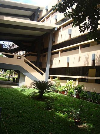 St Joseph Higher Secondary School, Dhaka - A portion of the north building