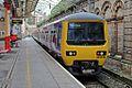 Northern Rail Class 323, 323239, platform 1, Crewe railway station (geograph 4524693).jpg