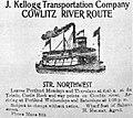 Northwest (sternwheeler) ad circa 1900.jpg