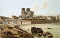 Notre-Dame, l'Évêché et le cloître, 1830.jpg