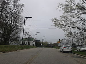 Nottoway, Virginia - Street scene in Nottoway