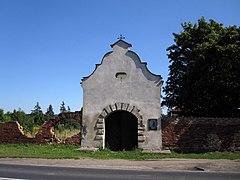 Ruiny klasztoru reformatów