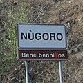Nugoro strassenschild sardisch.jpg