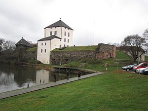 Nyköping Banquet - Present-day appearance of Nyköping Castle, in which the Dukes were starved to death.
