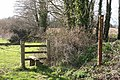 Nynehead, footpath to Chipley - geograph.org.uk - 145780.jpg