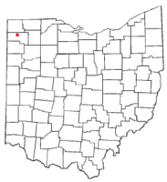 Location of Ney, Ohio