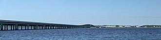 Ochlockonee River - Image: Ochlockonee Bay Bridge