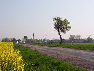 Leipzig Bay - Village scenery east of Leipzig