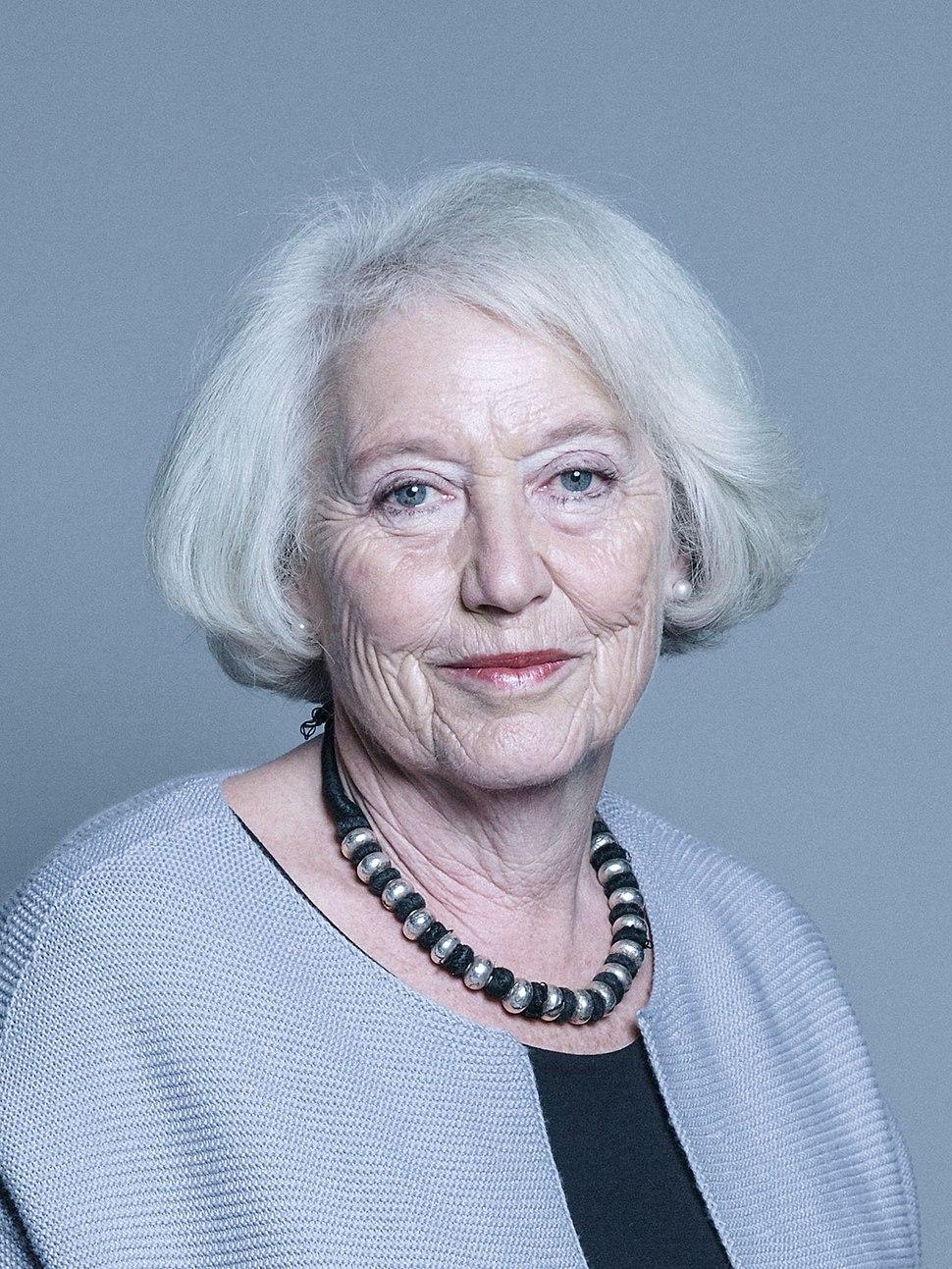 Official portrait of Baroness Hayman crop 2