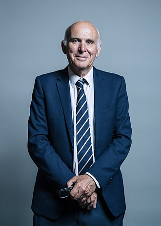 Leader of the Liberal Democrats - Image: Official portrait of Sir Vince Cable