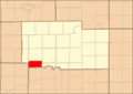 Ogle County Illinois Map Highlighting Woosung Township.png