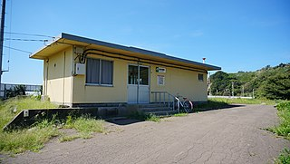 Oirase Station Railway station in Fukaura, Aomori Prefecture, Japan