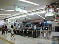 Oita Station ticket gate 2009-08-08.jpg