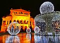 Old opera fountain holiday lights) (11931727025).jpg