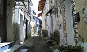 Paramythia - Image: Old town paramythia