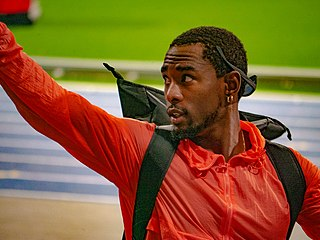 Omar Craddock American track and field athlete