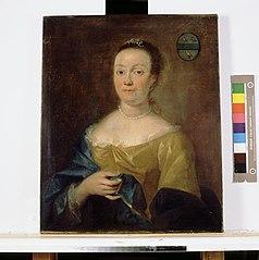 Maria Velsenaar (1711-1776). Echtgenote van James John Melvill van Carnbee