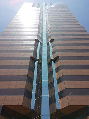 One World Trade Center (Long Beach) - One World Trade Center in Long Beach, California, seen from Ocean Boulevard level