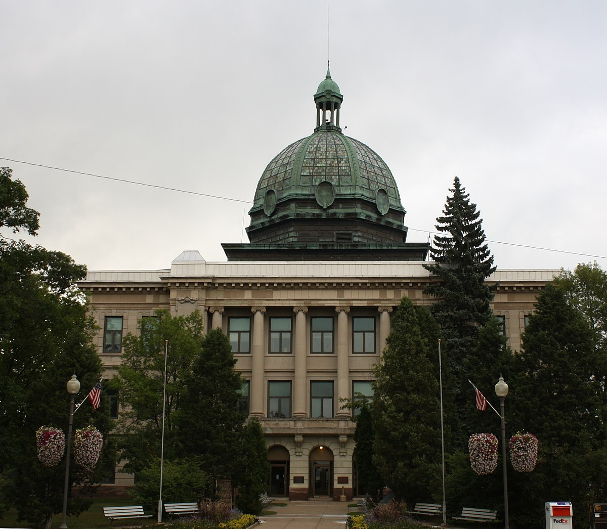 county oneida wisconsin courthouse rhinelander wikipedia history counties board wi wxpr population census september everipedia