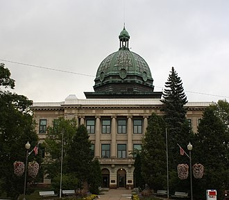 Oneida County, Wisconsin - Image: Oneida County Wisconsin Courthouse September 2011