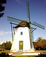 Onze Molen Tower Mill, Durbanville. Frontal View.jpg