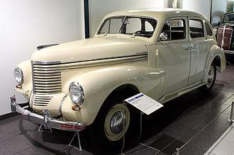 Opel Kapitän - Image: Opel kapitaen 38 40