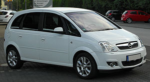 Mini MPV - Opel Meriva, first generation