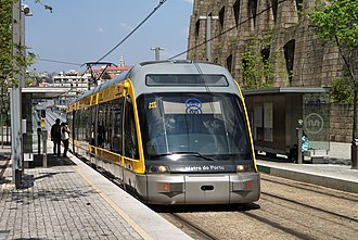 Metropolitan Area of Porto - Porto Metro network reaches seven municipalities of the metropolitan area.