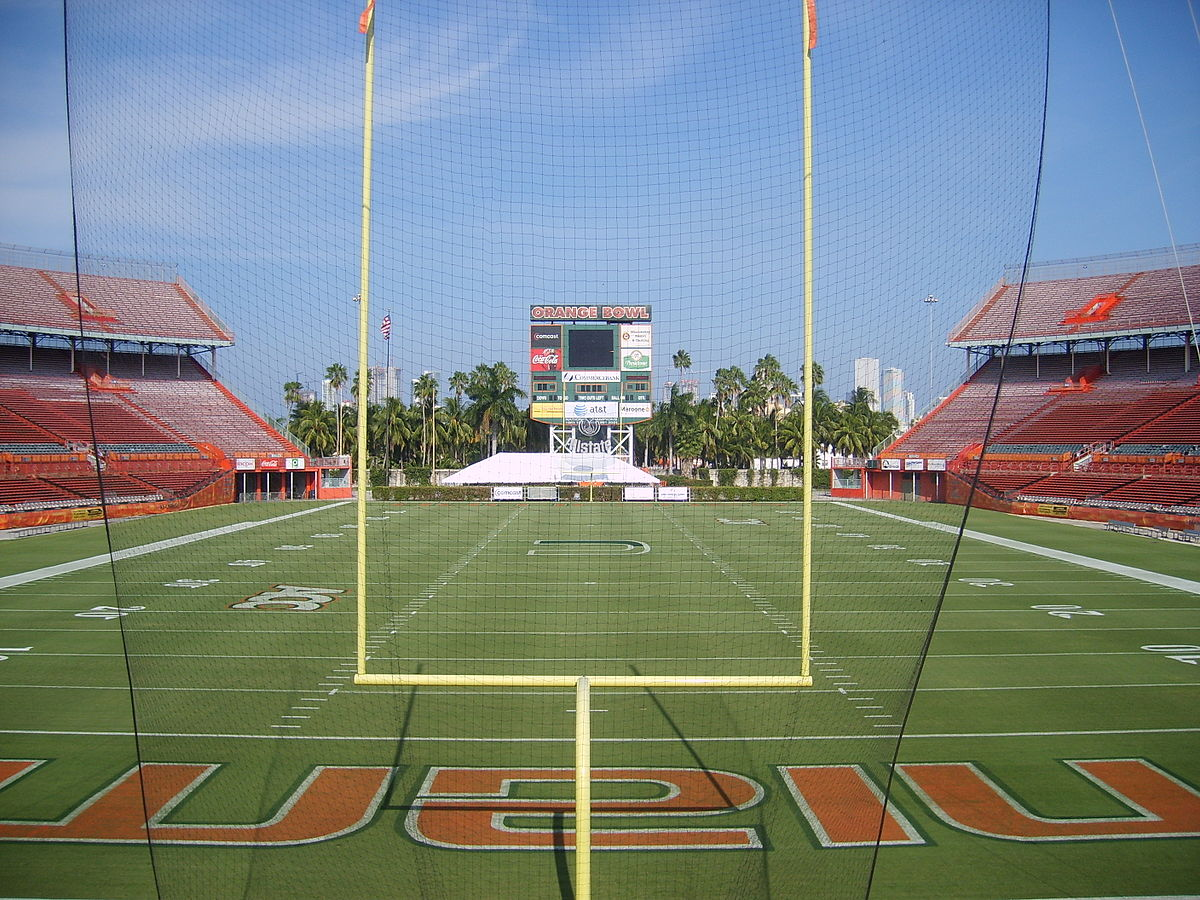 miami orange bowl - wikipedia