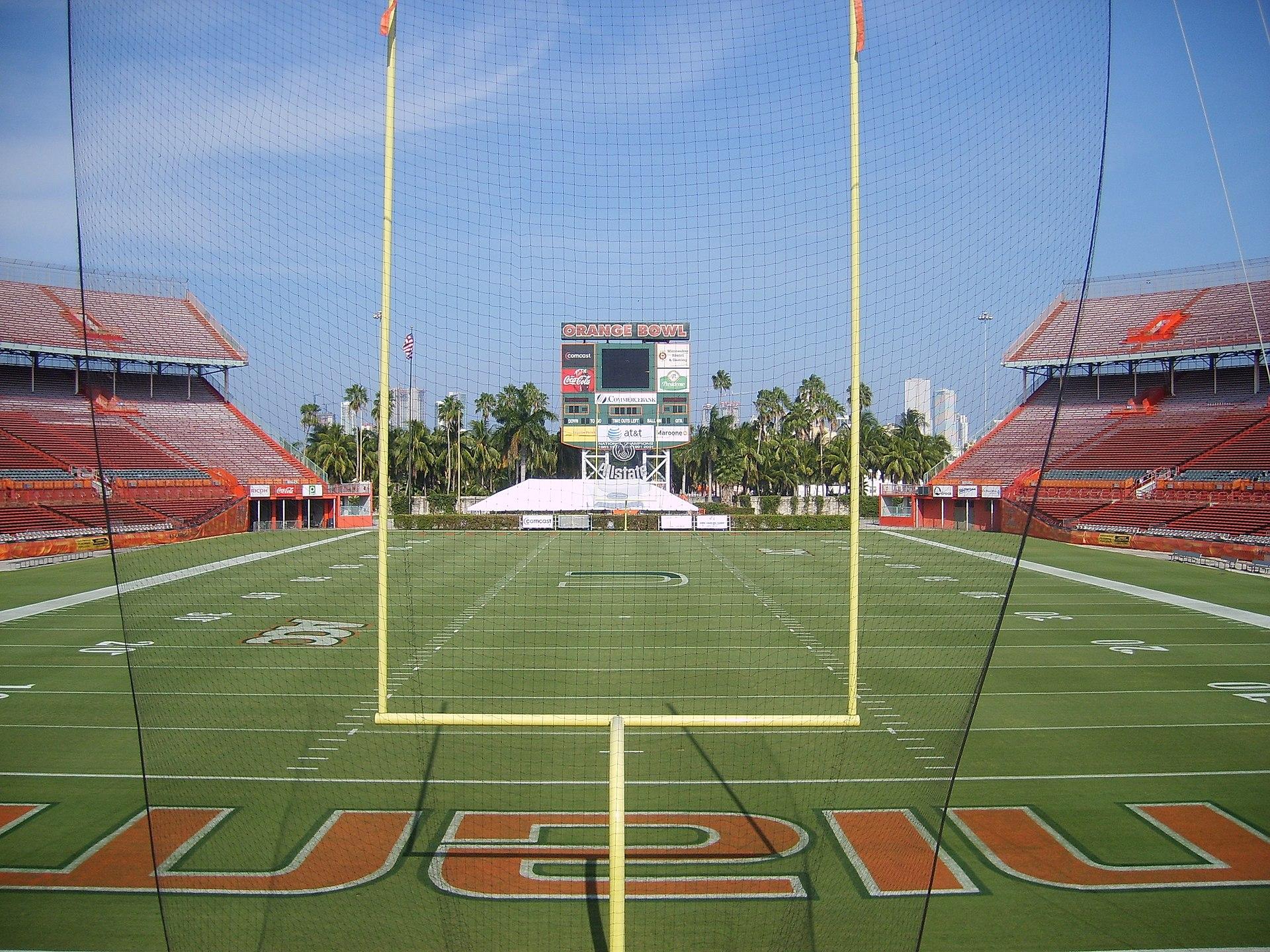 Miami Orange Bowl Wikipedia