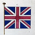 Order in Council, 5th November 1800 – illustration of the new flag of the United Kingdom of Great Britain and Ireland (PC 2-157).jpg