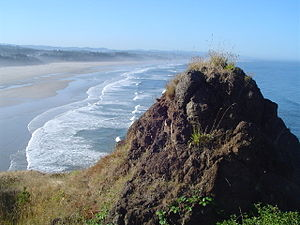 Oregon Coast in Newport, Oregon