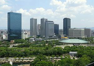 Chūō-ku, Osaka - Osaka Business Park (OBP)