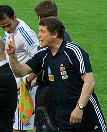 A photo of the football manager Otto Rehhagel.