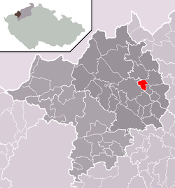 Location of Otvice
