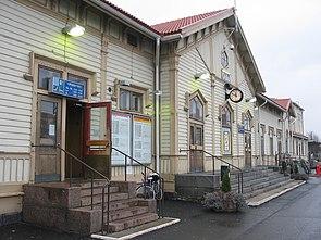 Oulun Rautatieasema Raiteet