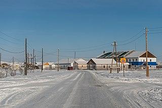 Oymyakon Selo in Sakha Republic, Russia