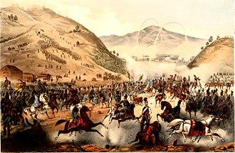 Battle of Pákozd - Battle of Pákozd by Hermann Géza and Róbert Závodszky