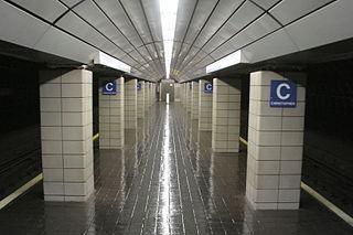 Christopher Street station (PATH) Port Authority Trans-Hudson rail station
