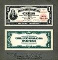 PHI-68c-Philippine Islands-Treasury Certificate-1 Peso (1924) Design proof.jpg