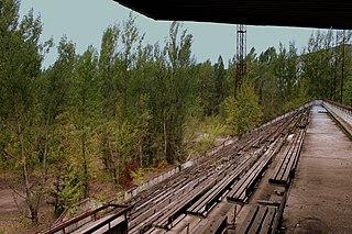 Avanhard Stadium (Pripyat)