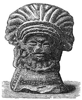 PSM V19 D627 Ancient clay image found at lanesboro mn.jpg