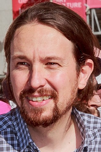 Next Spanish general election - Image: Pablo Iglesias 2017 (cropped)