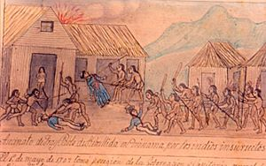 History of Costa Rica - Violent uprising of Indians in Talamanca region, 1709