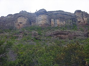 Packsaddle Mountain (Llano County, Texas) - Image: Packsaddle Cliff
