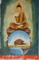 Painting of Kassapa Buddha, Wat Ho Xieng, Luang Prabang.png